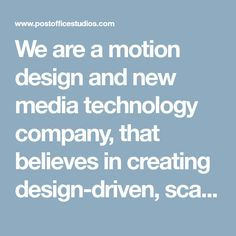 We are a motion design and new media technology company, that believes in creating design-driven, scalable, and tech-enabled content based Mumbai, India. New Media, Motion Design, Motion Graphics, Mumbai, Content, India, Technology, Rajasthan India, Tecnologia