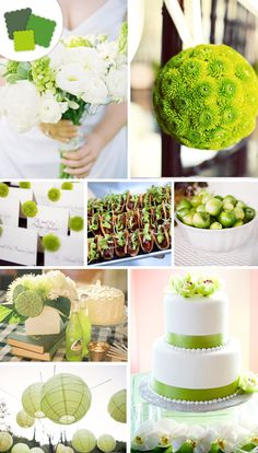 Classic Color Idea: Grassy green  Perfect Pairings: Tan, brown, hunter green, tangerine      Timeless Tip: This sassy-grassy hue can be used to set a playful mood at an outdoor wedding. Keep it classic with plaids and checkered patterns.