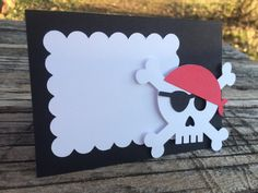 Set of 5 Pirate Party Tent Labels Pirate Party by BlueOakCreations