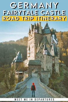 Germany fairytale castles, see the most beautiful castles in Germany on this Germany road trip. Romantic road and castle route in Germany. Visit Neuschwanstein Castle, Berg Eltz or Eltz Castle, Heidelberg Castle, Lichtenstein castle. The most beautiful places in Germany. Visit Germany and it's beautiful castles. #Germany #FairytaleCastles #GermanyRoadTrip #Europe #Bavaria Backpacking Europe, Travel Europe, Germany Travel, Visit Germany, European Road Trip, European Travel Tips, Lichtenstein Castle, Fairytale Castle, Beautiful Castles