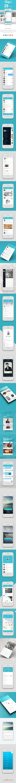 Flaty's – Flat Mobile App UI Design +download on App Design Served