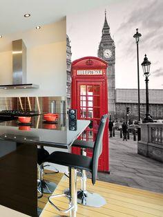Fotomurales Cabina London