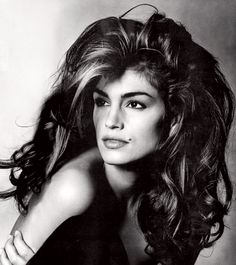 Cindy Crawford by Irving Penn - VOGUE - 1991