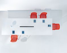 When you need a beautiful office table, Arki comes to rescue. Lots of shapes and sizes, durable and simple Boardroom Furniture, White Office Furniture, White Desk Office, Office Table, Laminate Table Top, Office Workstations, Workspace Design, Contract Furniture, Office Interiors
