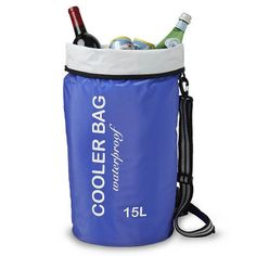 Discover our Waterproof Cooler Only at IWA Wine Accessories! Wine Chiller, Tarpaulin, Wine Cabinets, Cocktails, Beverages, Ice, Wine Bottles, Lead Free, Bags