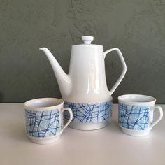 """Zestaw kawowy """"Roman"""" Zakład Porcelany w Chodzieży"""