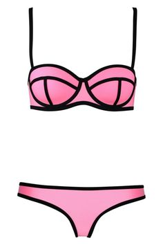 swingy-ribbon-textured-bikini-swimsuit