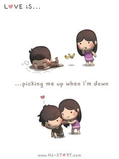 Check out the comic HJ-Story :: Love is... Picking me up
