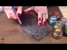 Grunge Paste 105 Treasure Gold - YouTube