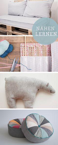 DIY-Anleitungen für Nähanfänger, Ideen und Vorlagen / diy tutorials for sewing starters, learn how to sew via DaWanda.com
