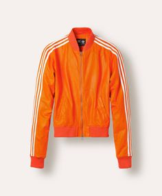 Adidas Originals x Pharrell Williams: le blouson Superstar orange