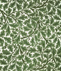 William Morris wallpaper. I have no idea what sort of room could handle this paper, but I like it.