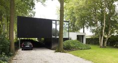 Unexpectedly Playful and Open Modern Home in Belgium - http://freshome.com/unexpectedly-playful-and-open-modern-home-in-belgium/