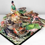 lovely...one in a series of pop-up books on the minority tribes of China by Colette Fu