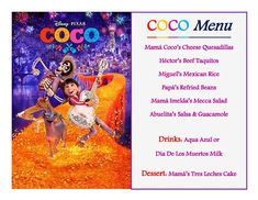 Disney Meal #18 - COCO