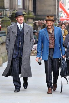 Season 3 #RipperStreet is filming in Manchester @ripper_street