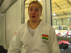 This was emotional for Szandra Szogedi Ghana's first female Judo representative at the Olympic Games was all tear in her post-game interview at the 2016 Rio Olympic Game
