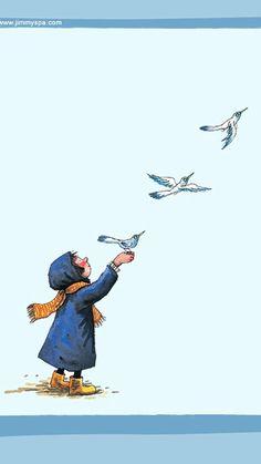 Jimmy Liao Fuiste hecho para volar; estas capacitado para ello. #autoconocimiento Gracias por la imagen