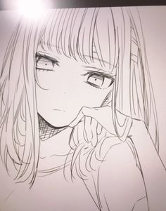 Pin by yoana andon on sketches in 2019 anime art, anime sketch, manga dra. Anime Drawings Sketches, Anime Sketch, Cute Drawings, Pencil Drawings, Pretty Anime Girl, Anime Art Girl, Manga Art, Manga Drawing Tutorials, Drawing Techniques