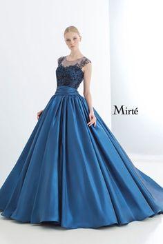 透けるレースが美しいノーブルなドレス | Mode Marie(モード・マリエ)
