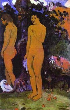 Adam and Eve....Gaugin ▓█▓▒░▒▓█▓▒░▒▓█▓▒░▒▓█▓ Gᴀʙʏ﹣Fᴇ́ᴇʀɪᴇ ﹕ Bɪᴊᴏᴜx ᴀ̀ ᴛʜᴇ̀ᴍᴇs ☞  http://www.alittlemarket.com/boutique/gaby_feerie-132444.html ▓█▓▒░▒▓█▓▒░▒▓█▓▒░▒▓█▓