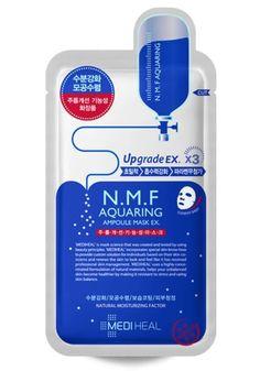 MEDIHEAL N.M.F Aquaring Ampule Facial Mask 25ml x 10pcs #MediHeal