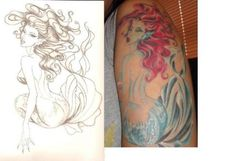 mermaid tattoos for men - Google Search