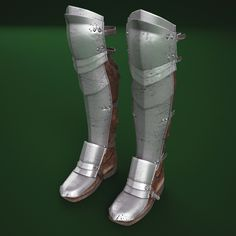 model: Medieval Armour Boots is a high quality model to add more details and realism to your projects. Armor Boots, Larp Armor, Cosplay Armor, Knight Armor, Medieval Boots, Medieval Armor, Knight Costume, Armadura Medieval, Military Gear