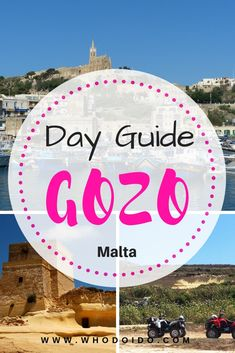 How to Spend a Day in Gozo – WhodoIdo: Gozo is Malta's sister island, located in the Mediterranean sea. Spend the day exploring the small, charming island by quad bike and enjoy the stunning coastline and rugged landscape. Europe Destinations, Europe Travel Guide, Romantic Destinations, Backpacking Europe, Romantic Getaways, Best Travel Guides, Travel Advice, Travel Pics, Travel Articles