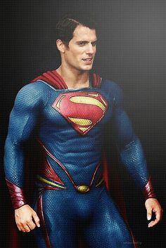 Henry Cavill as Superman!!!