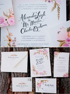 gorg wedding invites by Anna Bond