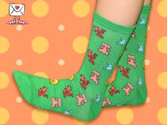 These socks remind us of June 11, 1982, the premiere of E.T. The Extra Terrestrial! Whoa!