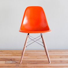 Eames DSW Orange now featured on Fab.