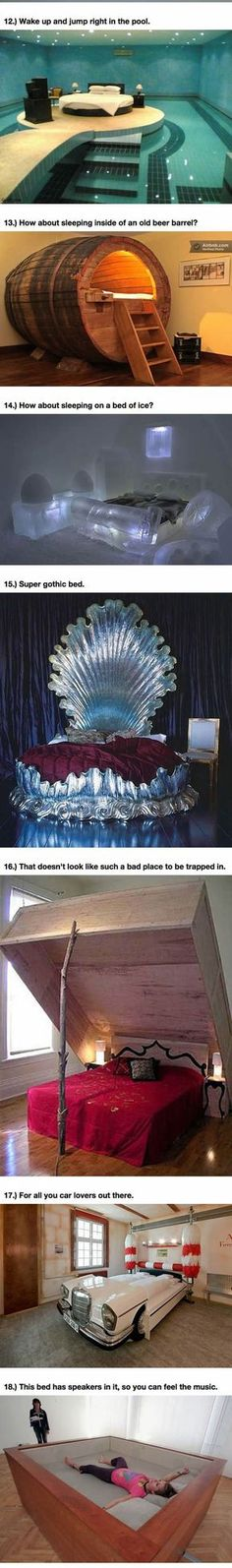 Funny pictures about 25 Amazing Beds Will Make You Wish It Was Nap Time. Oh, and cool pics about 25 Amazing Beds Will Make You Wish It Was Nap Time. Also, 25 Amazing Beds Will Make You Wish It Was Nap Time photos. Dream Rooms, Dream Bedroom, Pool Bedroom, Bedroom Bed, Bed Rooms, House Rooms, Awesome Bedrooms, Cool Rooms, Cool Inventions