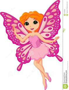 Beautiful Pink Fairy Cartoon - Download From Over 30 Million High Quality Stock Photos, Images, Vectors. Sign up for FREE today. Image: 31362362