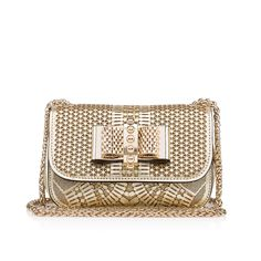 d9b850a7564f Bags - Sweety Charity - Christian Louboutin Gold Leather