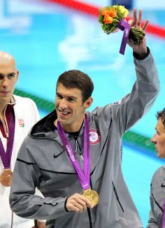 Michael Phelps - London Olympics Swimming