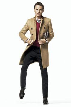 Clases de estilo para el invierno con Eddie Redmayne