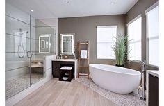 Bathroom design idea - Home and Garden Design  ideas ....   Oh wow