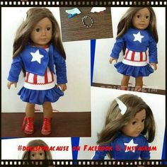 """Dolls for a Cause presents...""""Not all heroes wear capes"""" auction with 100% proceeds going to benefit www.fisherhouse.org. June 15th via eBay."""