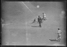 baseball+umpires+1950+brooklyn+dodgers | Brooklyn Dodgers vs. the Braves