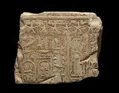 Part of a limestone relief; Hieroglyphic text including the cartouches of Ptolemy I BC- BC); frieze of stars above. Ptolemaic Dynasty, British Museum, Egypt, Outdoor Blanket, Africa, History, Stars, Collection, Historia