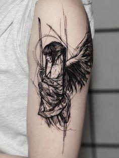 Dope Tattoos, Anime Tattoos, Pretty Tattoos, Beautiful Tattoos, Black Tattoos, Body Art Tattoos, Hand Tattoos, Small Tattoos, Tattoo Ink