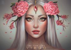 Virgo – The Star Signs by serafleur on DeviantArt - astrologie Art Virgo, Zodiac Art, My Zodiac Sign, Virgo Sign, Scorpio, Anime Zodiac, Virgo Horoscope, Zodiac Symbols, Libra Zodiac
