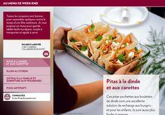 Pitas à la dinde et aux carottes - La Presse+