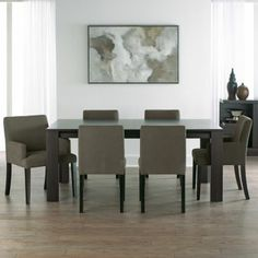 "Tribeca 72"" dining table, 796-2550 Side chair, 796-2558 jcp.com"