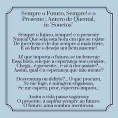 Antero de Quental | Poema: Sempre o Futuro, Sempre! e o Presente
