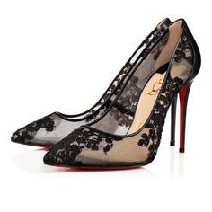 Chaussures femme - Follies Lace Fleuri - Christian Louboutin