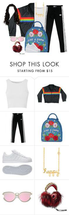 """Untitled #251"" by nakarichamberlain on Polyvore featuring Glamorous, adidas, Sydney Evan and Dolce&Gabbana"
