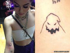 Dream Tattoos, Mini Tattoos, Future Tattoos, Body Art Tattoos, Small Tattoos, Tatoos, Maggie Lindemann, Goth Tattoo, Grunge Tattoo